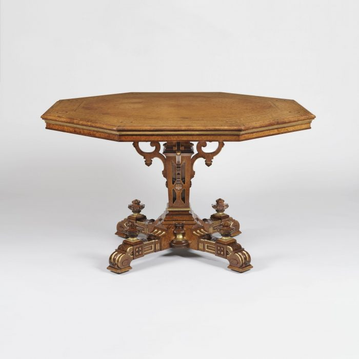 9139 Octagonal centre Table by Johnstone & Jeanes 2