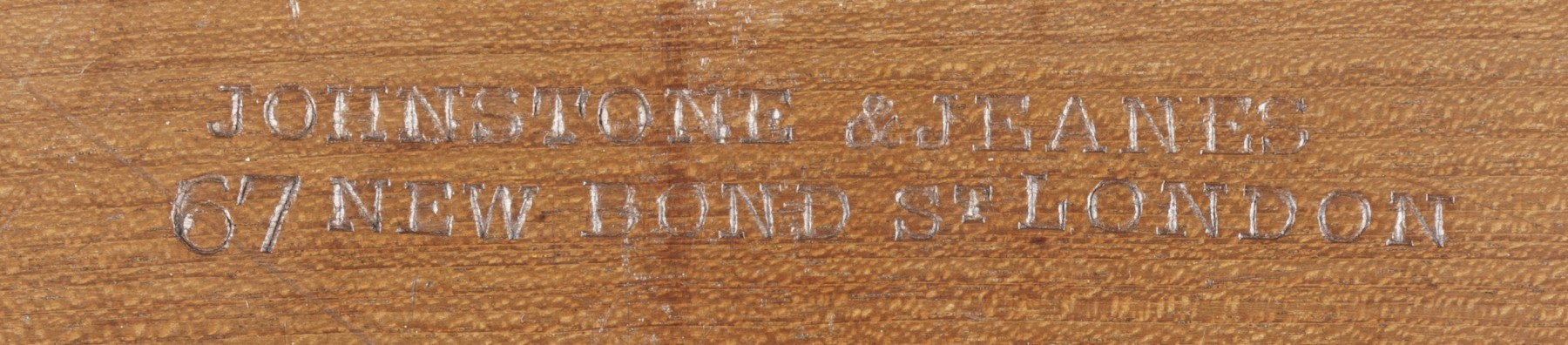 9139 Octagonal centre Table by Johnstone & Jeanes stamp