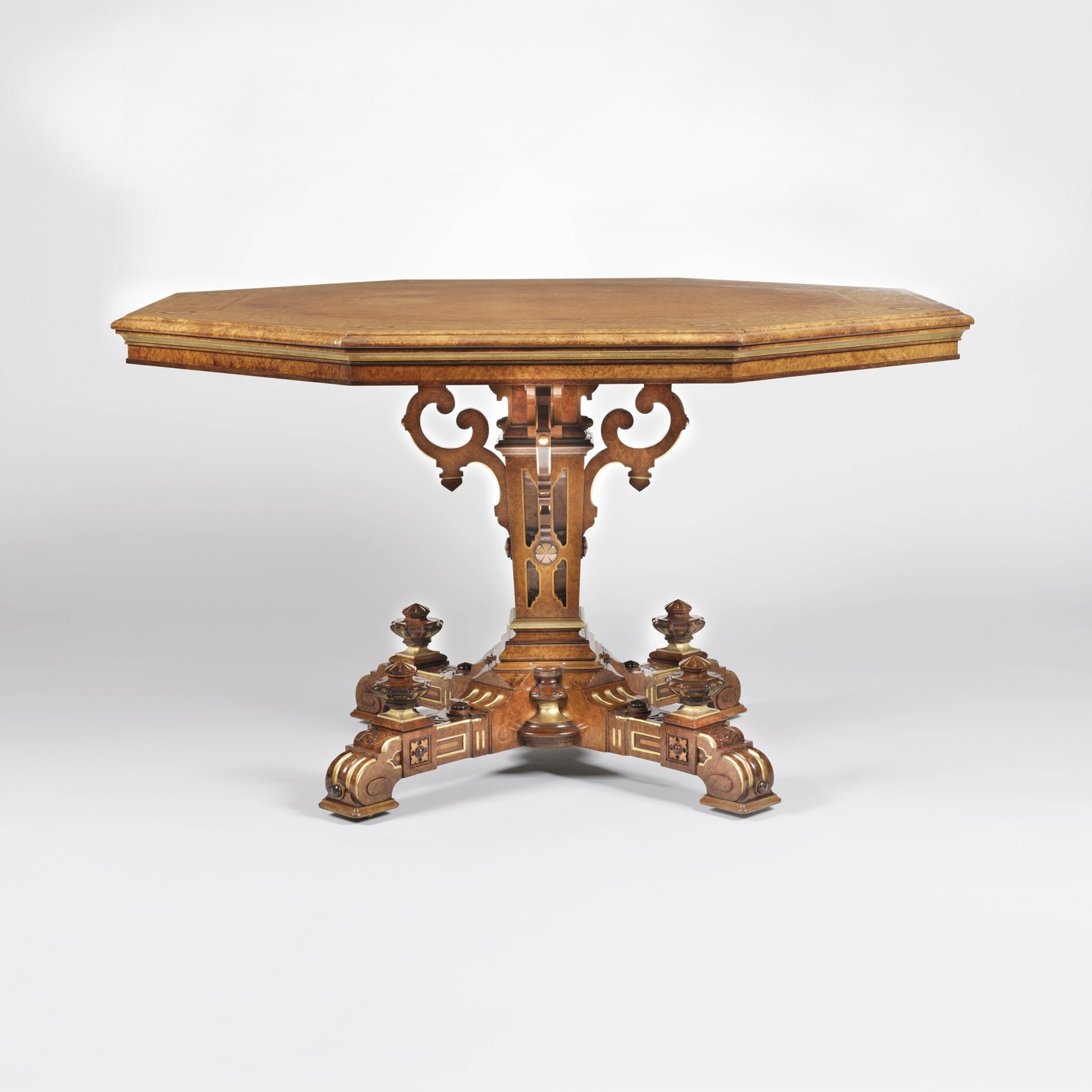 9139 Octagonal centre Table by Johnstone & Jeanes